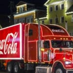 Camiones de Coca-Cola