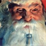 Santa Claus de Coca-Cola en 1920