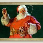 Los primeros diseños de Santa Claus para Coca-Cola